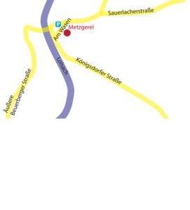 Anfahrt zur Metzgerei Geiger