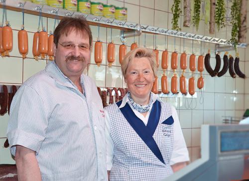 Unsere Metzgerei - Thomas und Luise Geiger